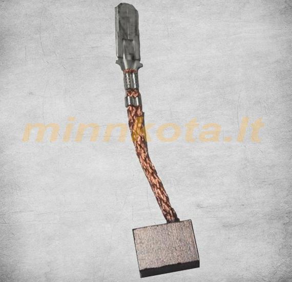 Mažas šepetėlis-angliukas Minn Kota varikliams